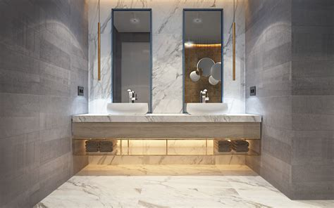 brass bathtub marble and brass bathroom interior design ideas
