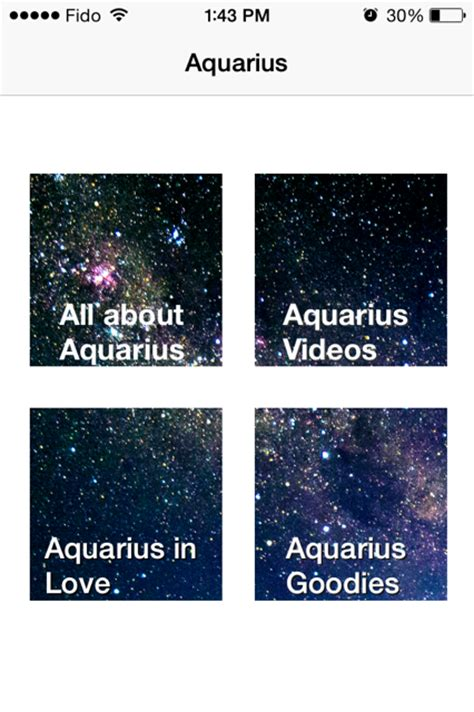 aquarian digest aquarius app all about astrology for