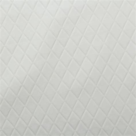White Upholstery Leather by Stitch Embossed Padded Luxury Cer Car