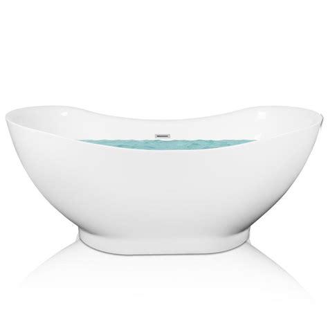 Oval Acrylic Freestanding Bathtub