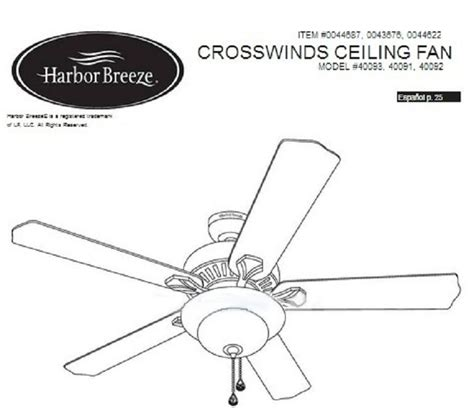 harbor fan installation harbor ceiling fan installation guide