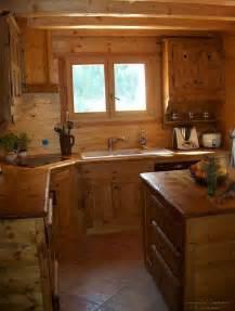 cuisine chalet bois am 233 nagement de cuisine