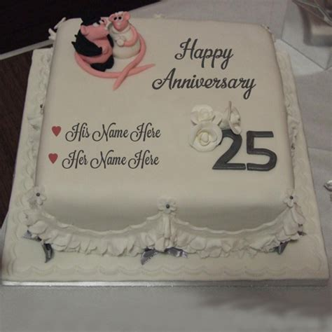 Wedding Anniversary Wishes Name On Cake by Happy Wedding Anniversary Design Cake Write Name
