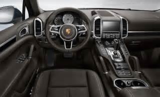 2015 Porsche Cayenne Interior Car And Driver