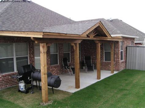 slight slope patio covered patios