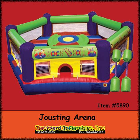 jousting backyard inflatables