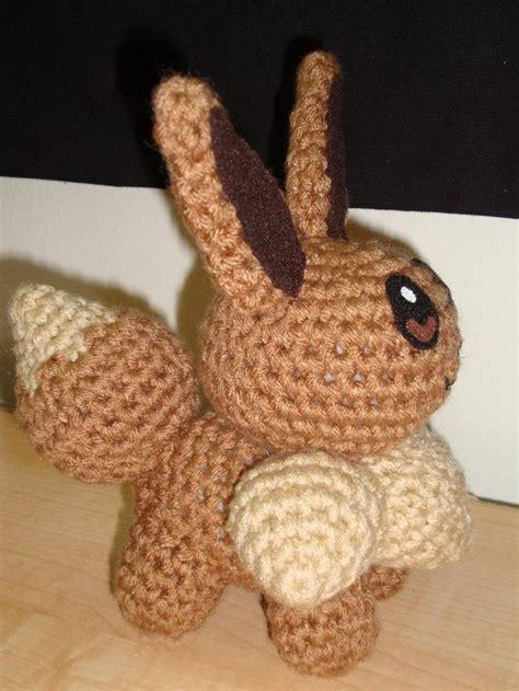 amigurumi eevee pattern eevee crochet pokemon pinterest