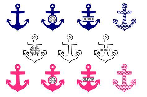 boat anchor dxf anchor svg nautical svg sailing svg design bundles