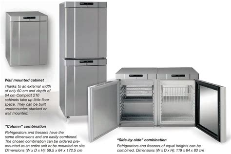 small under cabinet freezer gram compact f 210 lg 3w white under counter freezer