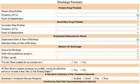 substance abuse discharge plan template merrychristmaswishesinfo