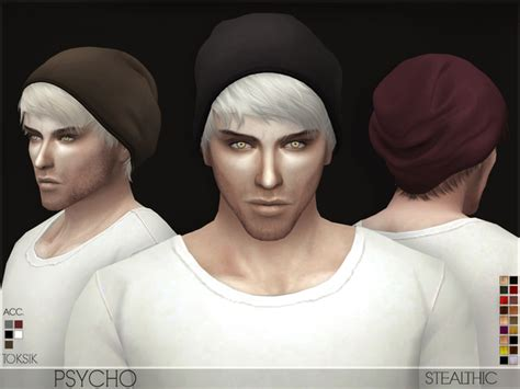 sims 4 cc hair for guys the sims resource stealthic psycho male hair sims 4