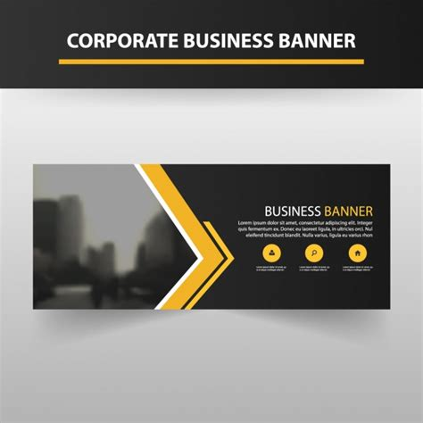 banner template design vector free