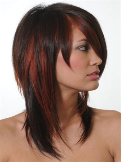 trendy highlights for 2015 black hairstyles with trendy highlights 2016 2017