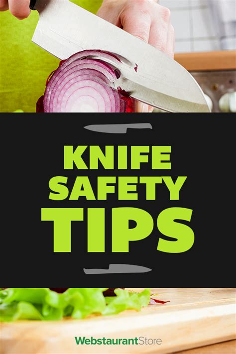 knife tips knife safety tips kitchen knife handling and safety