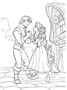 its tangled ranpunzel coloring pages print color craft