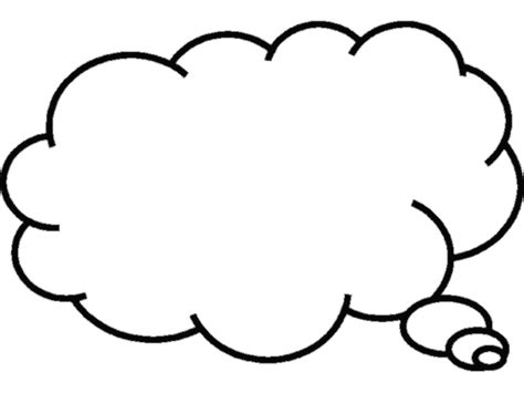 Thinking Outline by Person Thinking With Thought Clipart Panda Free Clipart Images