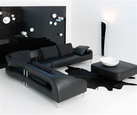Black And White Chair And Ottoman Design Ideas Sofa Designs For Drawing Room Waterfaucets
