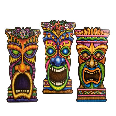 591 best images about luau on pinterest tiki totem luau shop for tiki cutout decorations cutouts plus tons of