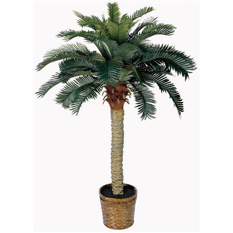 Home gt artificial florals gt gt 4 ft sago silk palm tree