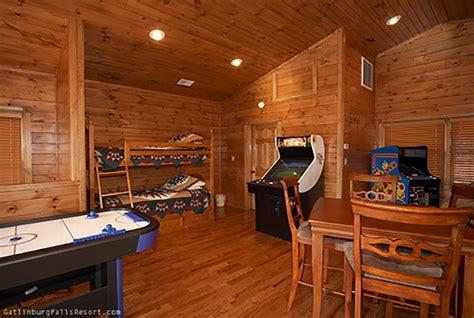 Cabin Necessities gatlinburg cabin necessities 3 bedroom sleeps 12 swimming pool access bunk beds