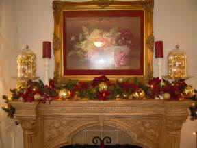 Garland Ideas | christmas fireplace garland ideas inspirationseek com