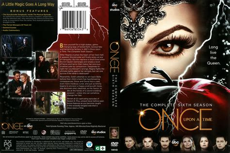 Dvd Once Upon A Time 2017 once upon a time season 6 2017 r1 dvd cover dvdcover