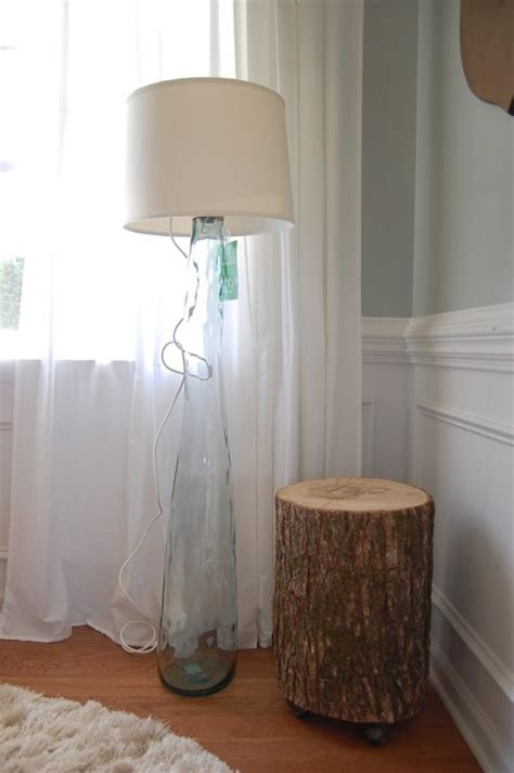light   living room    diy floor lamps