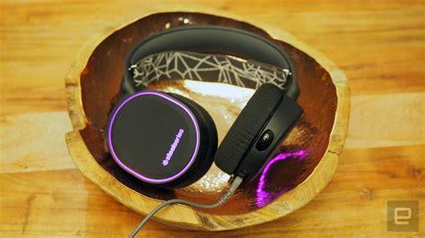Headset Steelseries Arctis 5 Rgb Black Like New Murmer steelseries keeps it with its new gaming headsets