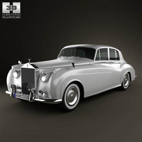 rolls royce silver cloud ii saloon 1959 3d model humster3d