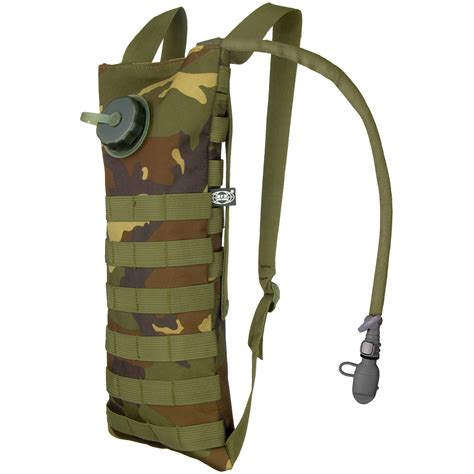 carrier hydration s mfh hydration bladder and carrier molle woodland