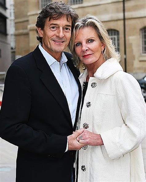 michael whitehall and wife bride no3 for nigel havers london evening standard