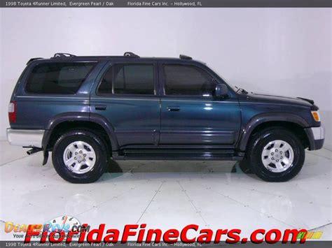1998 Toyota 4runner Limited 1998 Toyota 4runner Limited Evergreen Pearl Oak Photo 4