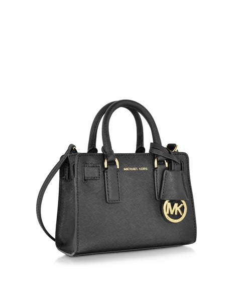 michael kors saffiano crossbody bag black mkwholesale