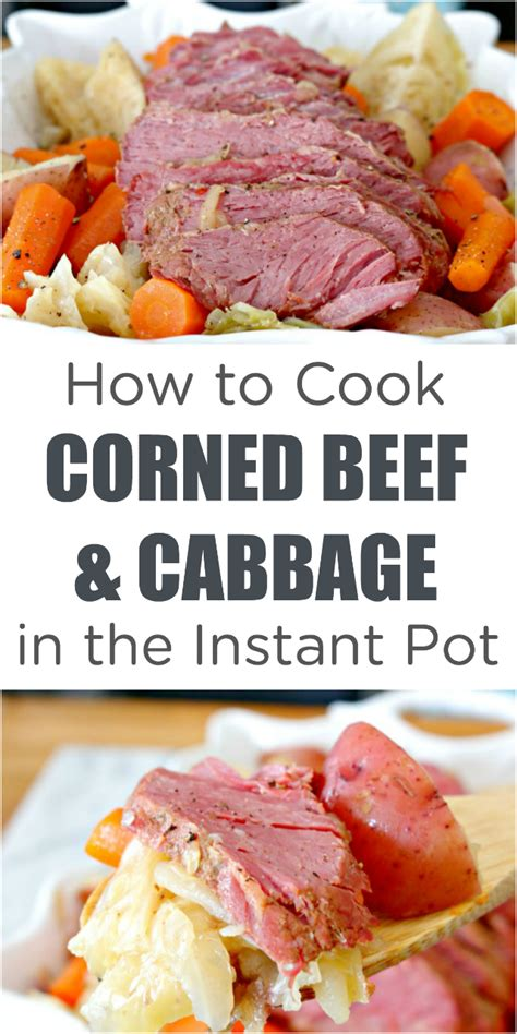 how to cook instant pot corned beef and cabbage mom 4 real