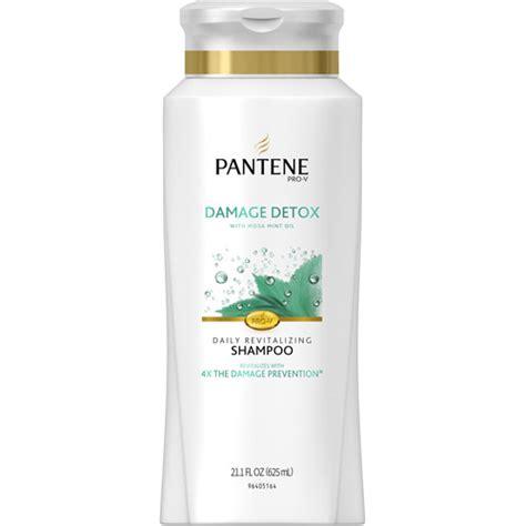 Pantene Detox Purifying by Pantene Pro V Damage Detox Daily Revitalizing Shoo 21