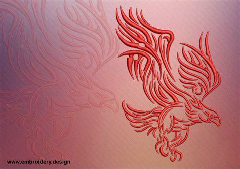 tattoo embroidery designs tattoo fire eagle embroidery design embroidery design