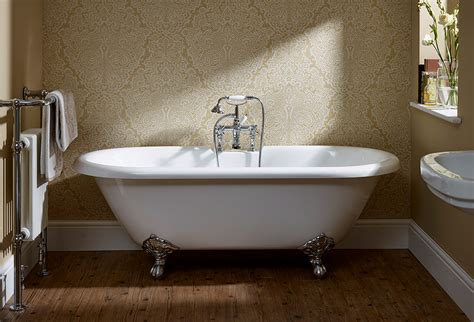 Essential Traditional Roll Top Freestanding Bath 1700 X 800mm