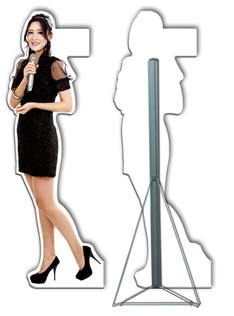 human standee cut  display display system supplier