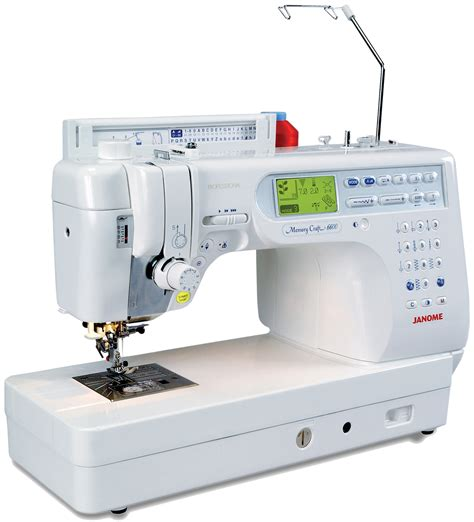 Sewing And Quilting Machines by Janome Memory Craft 6600 Professional Sewing Quilting