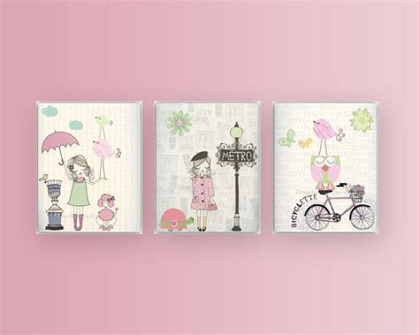 Nursery Art Baby Room Decor Baby Girl Nursery Wall By Wall Decor For Nursery