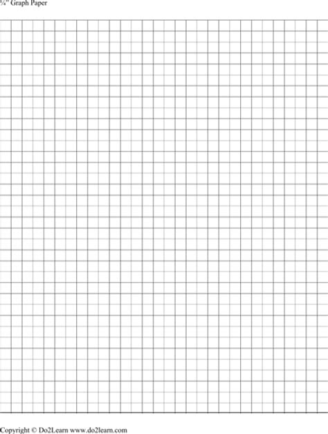 one inch graph paper template graph paper templates for excel pdf and word