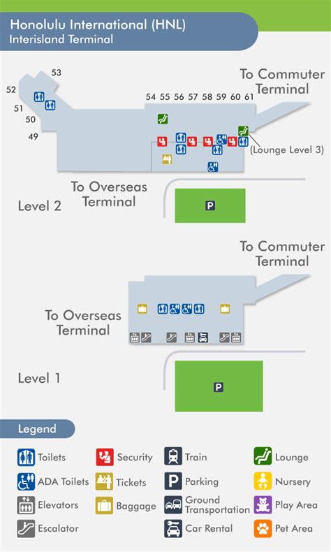 honolulu airport terminal map 29 creative honolulu airport arrivals map afputra