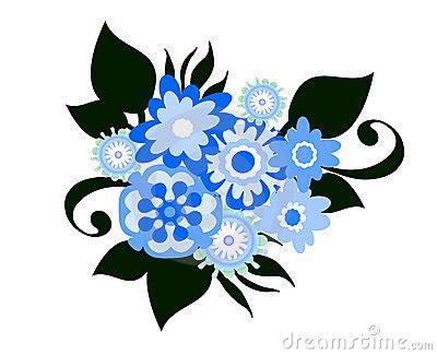 immagini fiori stilizzati fiori stilizzati fotografie stock libere da diritti