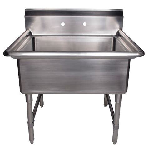 stainless steel utility sink freestanding whitehaus noah s collection brushed stainless steel square
