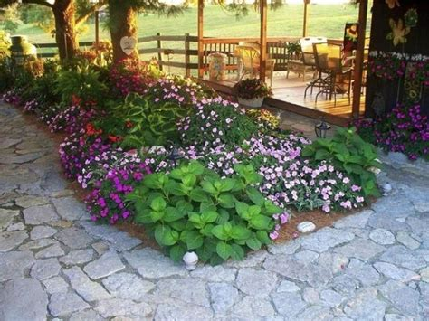 Backyard Flower Bed Ideas Shade Tree Flower Beds Small Backyard Garden Ideas Backyard Garden Exles Backyard Picture
