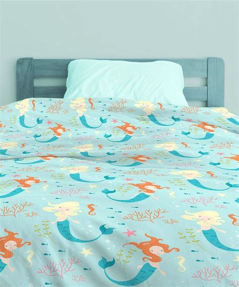 Mermaid Bed In A Bag Bedding Set Mermaid Bedding Set