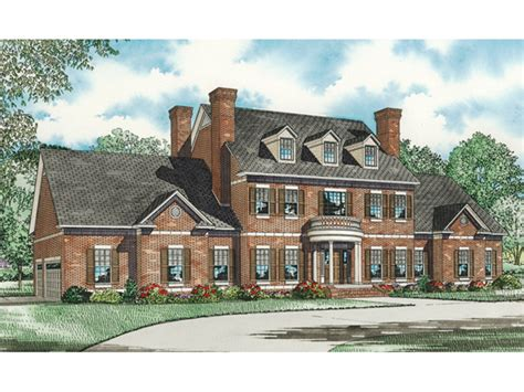 luxury colonial house plans saltsburg luxury georgian home plan 055s 0081 house plans and more