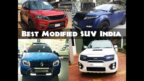 Compare Cars India by All Time Best Modified Suv Cars In India