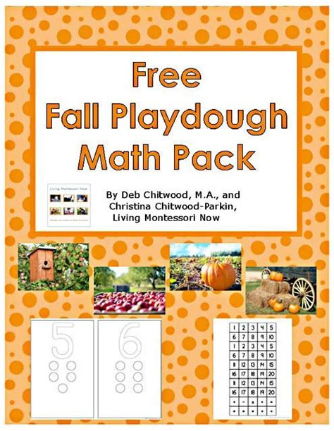 free printable fall playdough mats 13617 best free printables images on pinterest free