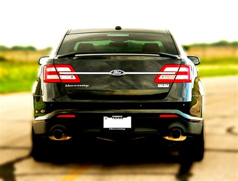 2013 ford taurus hp hennessey built 2013 ford taurus sho 445 hp ford